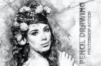 Pencil Drawing Photoshop Action 19737502 6