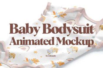 Baby Bodysuit Animated Mockup 6491561 9