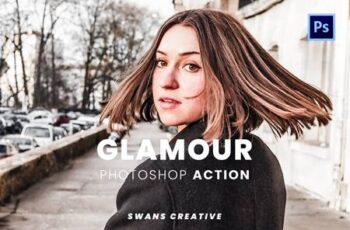 Glamour Photoshop Action 7RDBU9W 2