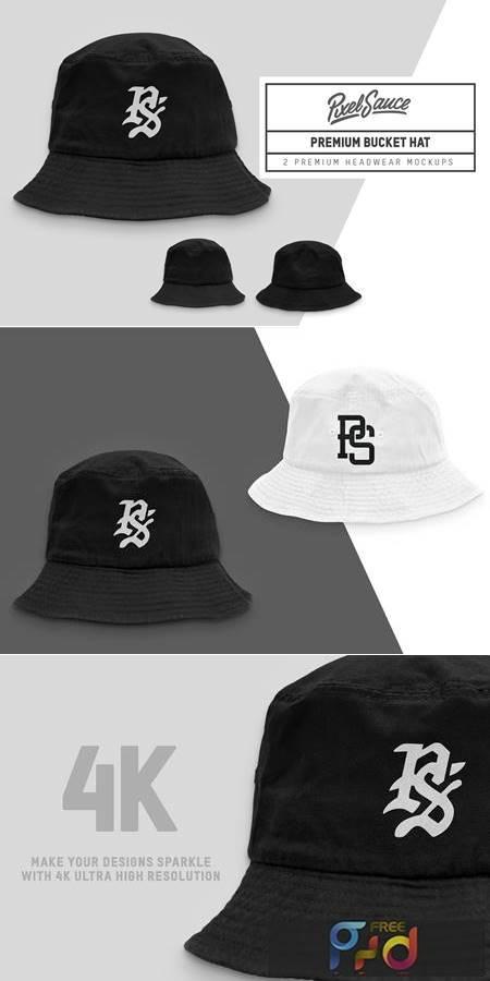 Premium Bucket Hat Mockups 6321758 1