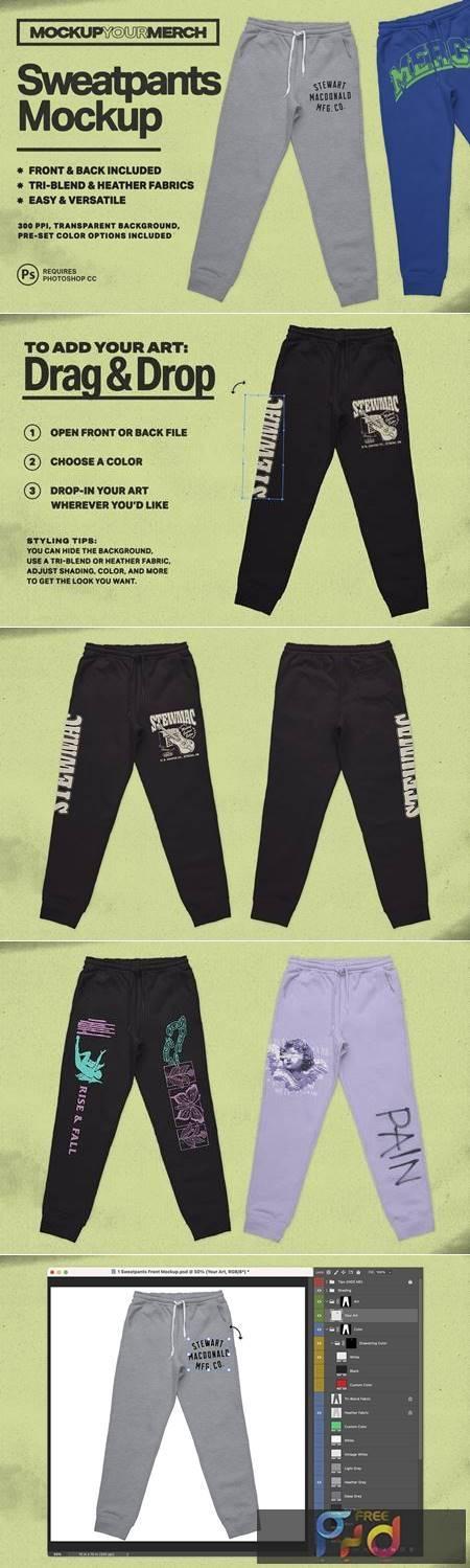 Sweatpants Merch Mockup 6365147 1