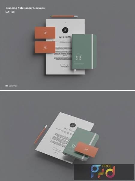 Branding - Stationery Mockups B2ULL6P 1