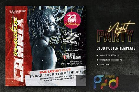 Club Party Poster Template RJW5VZJ 1