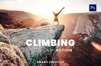 Climbing Photoshop Action WUXUA88 5