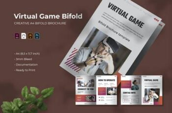 Virtual Game - Bifold Brochure 4RZJK84 7