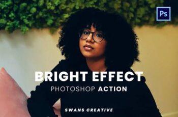 Bright Effect Photoshop Action TGQQ95T 5