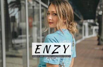 Enzy Lightroom Presets Dekstop and Mobile 4VNL26Q 7