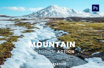 Mountain Photoshop Action HD64JLJ 5