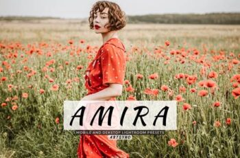 Amira Lightroom Presets Dekstop and Mobile GB47XRL 6