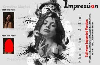Impression Photoshop Action 6545186 3