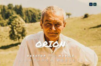 Orion Desktop and Mobile Lightroom Preset MZW8YVQ 6