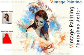Vintage Painting Photoshop Action 6547993 14