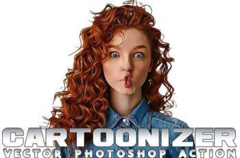Cartoonizer Photoshop Action BVUPBDX 13
