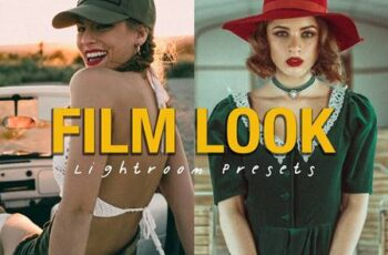 10 FILM LOOK Lightroom Presets 6487385 4