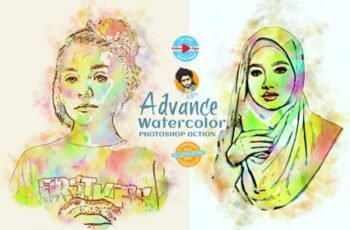 Advance Watercolor Effect 6519258 11