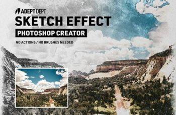 Photoshop Sketch Effect Creator 6284312 1