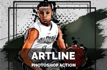 Artline Photoshop Action 5640054 3