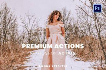 Premium Actions Photoshop Action G58ZUZG 8